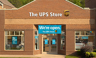 Exterior of The UPS Store