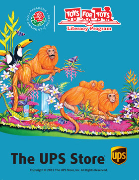 The UPS Store 2020 Rose Parade Float design
